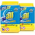 2-Pk of 72-Count all Mighty Pacs Laundry Detergent (Stainlifter)
