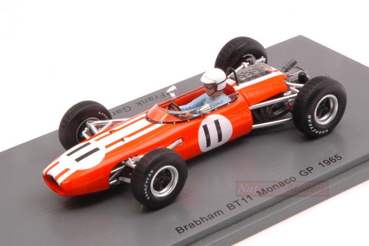 precio razonable NEW31 NEW31 NEW31 Spark Model S5253 BRABHAM BT11 Frank Gardner 1965 N.11 Retired Monaco GP 1:43  ventas en linea