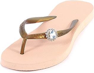 51ea52595896f Uzurii Women s Original Switch Rubber Toe Post Jewell Flip Flop Sand