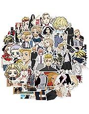 ALTcompluser 50 stuks Anime Tokyo Revengers stickers, waterdicht vinyl stickers voor laptop, MacBook, bagage, skateboard (stijl 03)