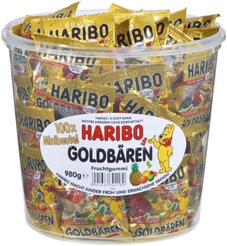 Haribo – Mini Ositos Oro, Estuche de 100