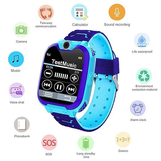 Umiwe Niños Musica Smartwatch, Impermeable Reloj Inteligente ...
