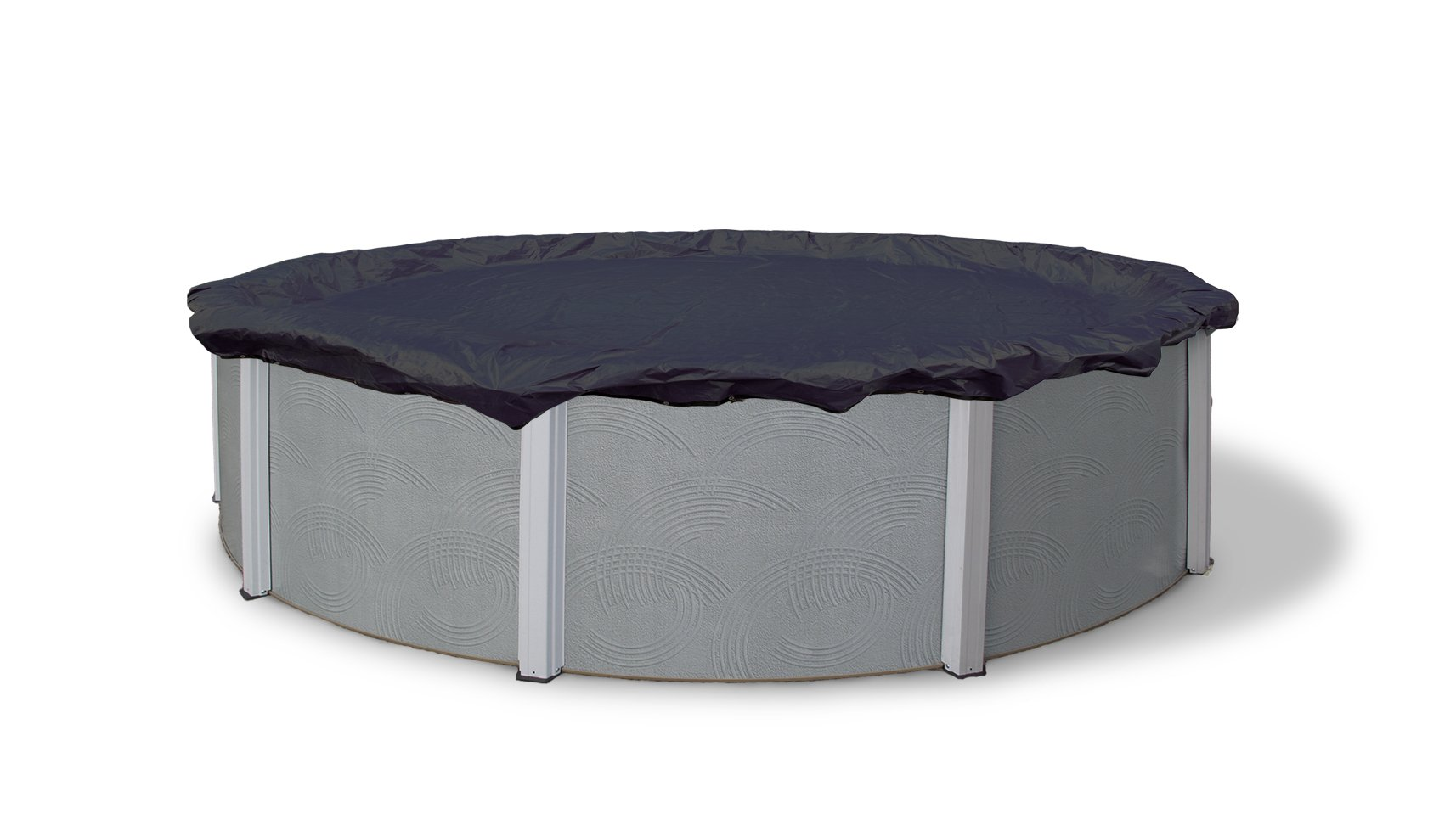 Blue Wave Bronze 8-Year 24-ft Round Above Ground Pool Winter Cover by Blue Wave