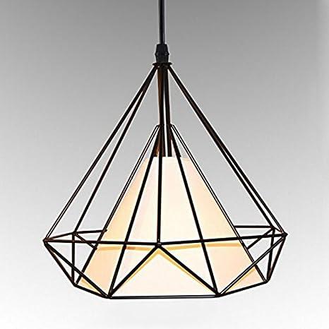 Amazon.com: MKLOT - Lámpara de techo, diseño de jaula de ...