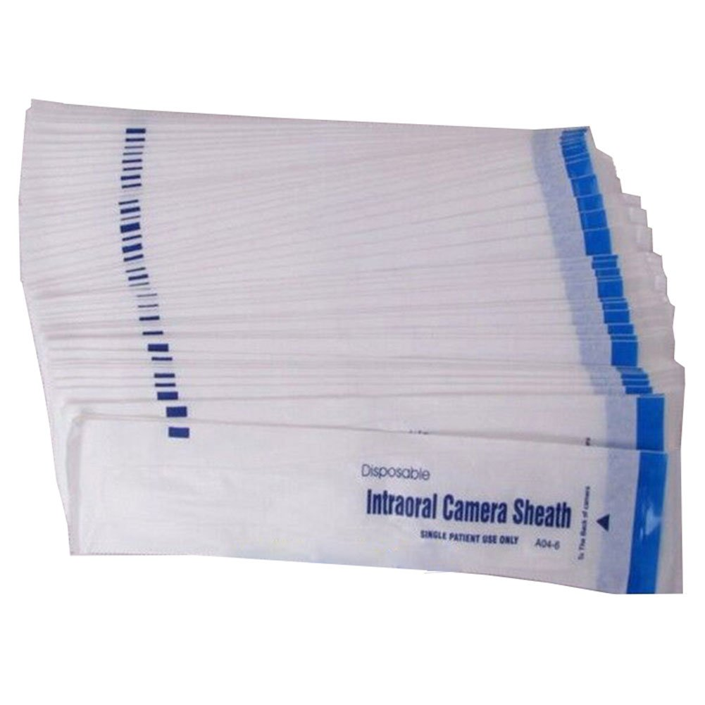 Dental Disposable Intraoral Camera Sheaths Endoscopic Sleeves Covers Film (500 Pieces) by only dental