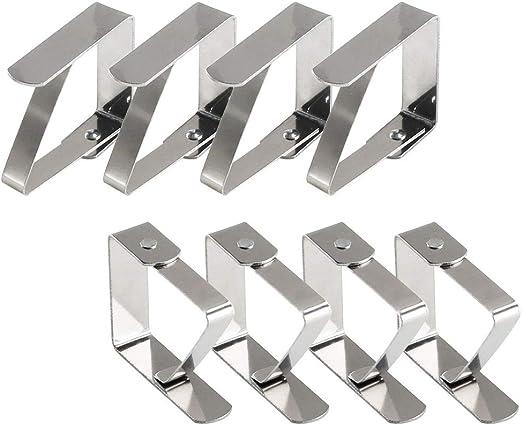 FOGAWA 8Pcs Pinzas para Mantel Clip Clips de Mantel Pinzas Mantel ...