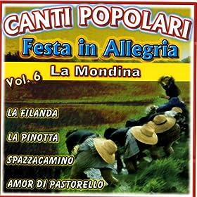 Amazon.com: Canti Popolari Festa in Allegria Vol.6: Sandra
