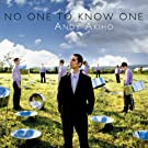 No One to Know One