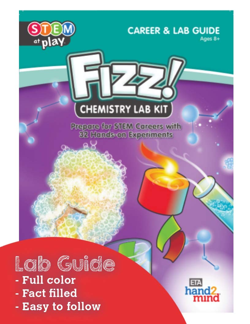 Chemistry Science Kit, 32 STEM Activities, Make Your Own Foam, Crystals,  and Magic Tricks: Industrial & Scientific