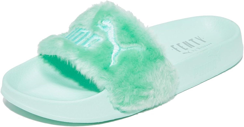 Mus Mareo familia  Amazon.com   PUMA Women's Fenty x Faux Fur Slides   Shoes