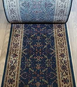 Amazon Com 152399 Rug Depot Victoria Antique Navy