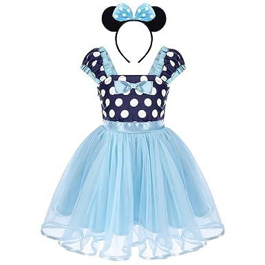 69d905ada Toddler Kids Baby Girls Polka Dots Tutu Birthday Party Dress ...