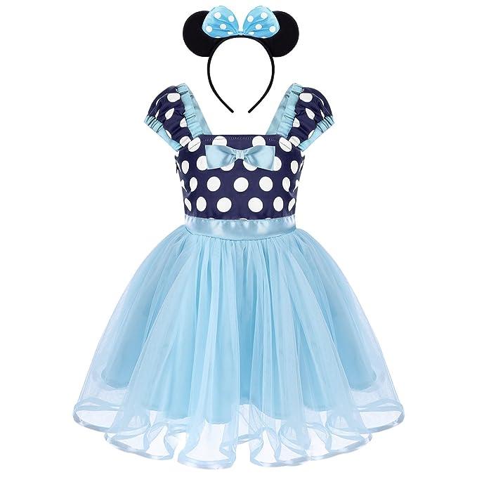 Obeeii Baby Madchen Festlich Fasching Kostume Polka Dots Prinzessin