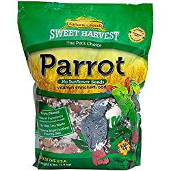 Sweet Harvest Parrot Bird Food (No Sunflower Seeds)