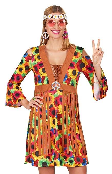 Andrea Moden Vestido de Traje para Mujer Hippie Soleado con ...