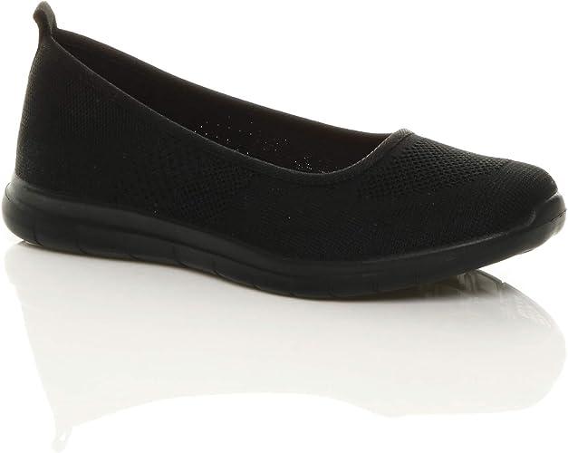 memory foam slip on shoes ladies