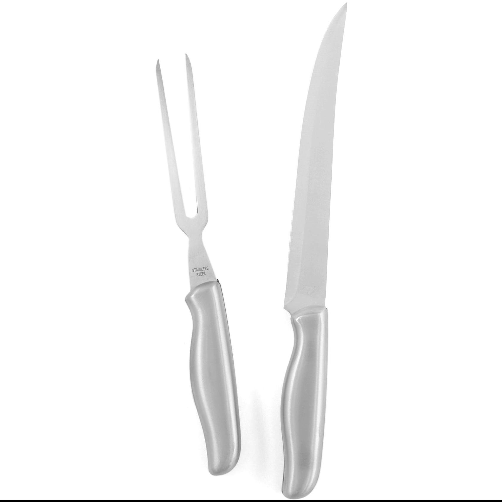 Carvel Hall Stainless Steel Carving Set 2 Piece Set