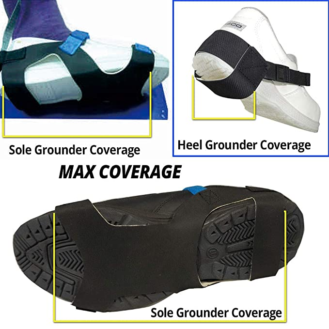 XS 2meg Complete Path to Ground Static Care ESD Elastic Sole Grounder