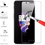 Oneplus 5 Tempered Glass,One Plus 5 Screen Protector, Scratch-Prevention Anti-Bubble Strengthened Tempered Glass For One Plus 5 [DRY APPLICATION] DN-Alive