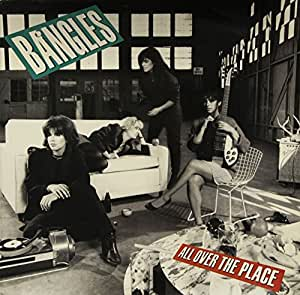 All over the place (1984) / Vinyl record [Vinyl-LP]