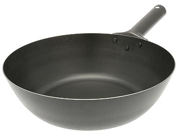 3e6ceeee128 Kotobuki Japanese Iron Stir Deep Fry Pan