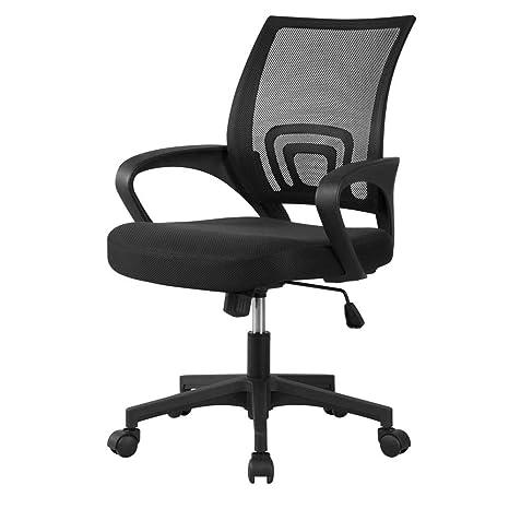 Awe Inspiring Amazon Com Yaheetech Office Chair Ergonomic Cheap Desk Ncnpc Chair Design For Home Ncnpcorg