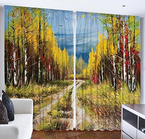 Ambesonne Fine Art Curtain