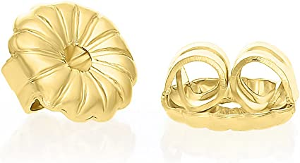 Earring Back Replacements Butterfly 14K Solid Gold