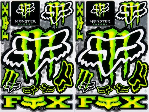 energy drink sticker sheets - 9