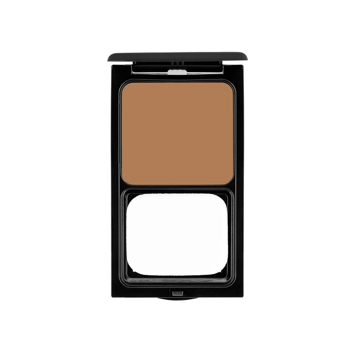 Cream Foundation Compact by Sacha Cosmetics, Best Natural Matte Makeup to give Flawless Looking Skin, Full Coverage, Normal to Dry Skin, 0.45 oz, Cocoa Beige