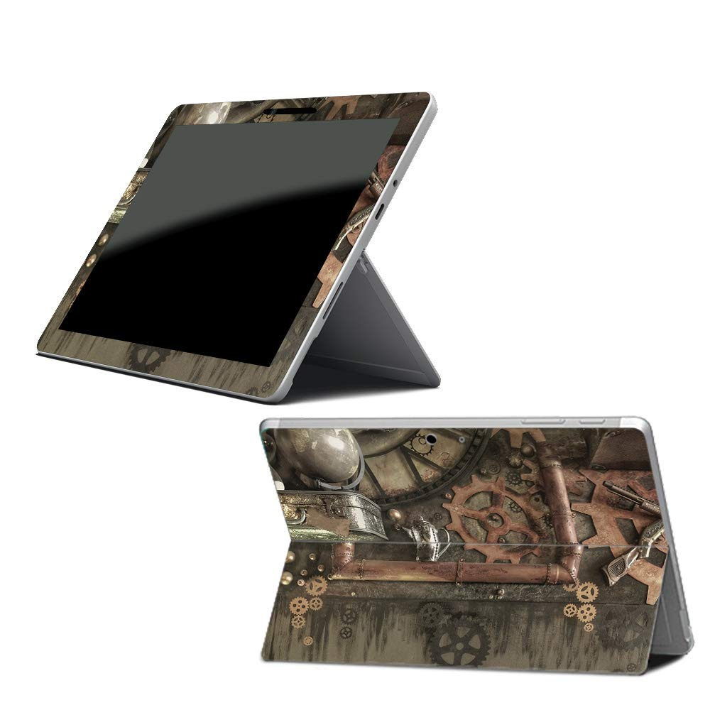 MightySkins Skin for Microsoft Surface Go - Steam Punk Room Protective, Durable, and Unique Vinyl Decal wrap Cover | Easy to Apply, Remove, and Change Styles | Made in The USA