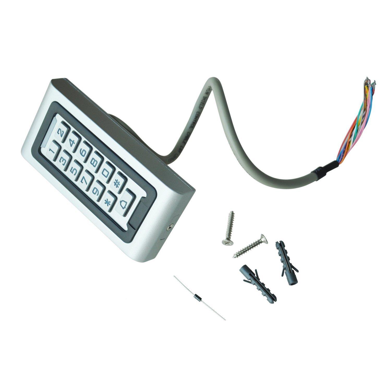 SODIAL(R) Control Acceso Puerda Digicode Teclado RFID lector proximidad seguridad Casa TOOGOO SPHAGT75287