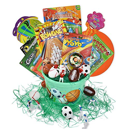 Sports Themed Easter Basket -