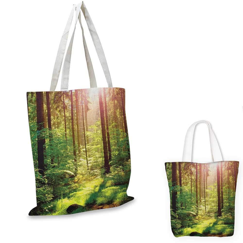 深みのあるダークエバーグリーンジャングルマジカルサリアルエクストリームビビッドプラントジャングルグリーンブラウンへのForestEntrance to Deep Dark Evergreen Jungle 12