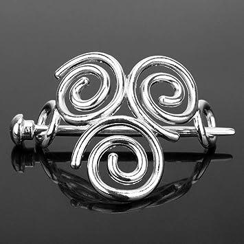 Haarspange mit keltischen Knoten Irland Haarschmuck