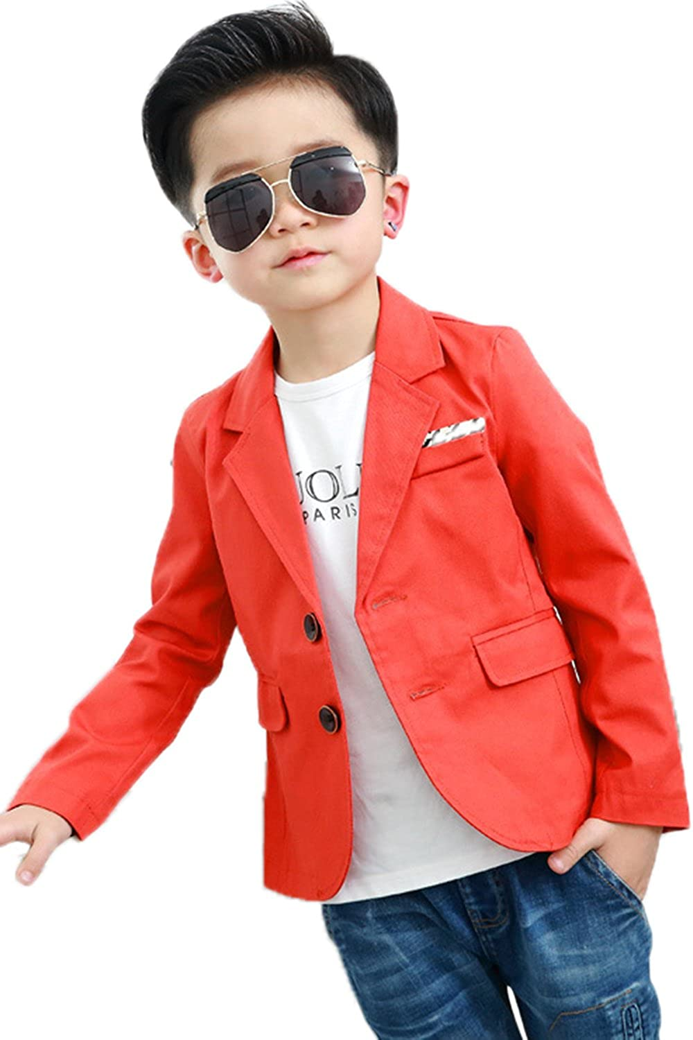 Boys Fashion Blazers Casual Jackets