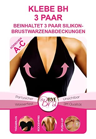 Bye Bra Adhesive Breast Lifts Invisible Bra Amazon Co Uk Clothing