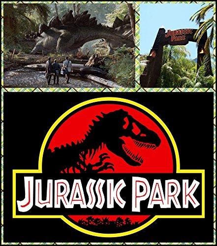 Jurassic Park (14x16 inch, 35x40 cm) Silk Poster Seda Cartel ...
