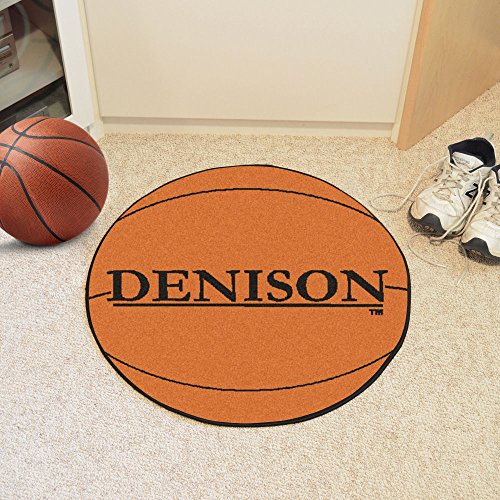 Fanmats Denison University Basketball Mat/27 Diameter