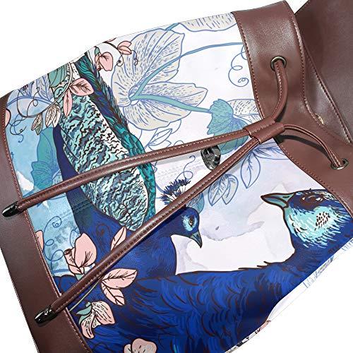 au DragonSwordlinsu Taille à multicolore main Sac porté unique dos pour femme Iq6P1q