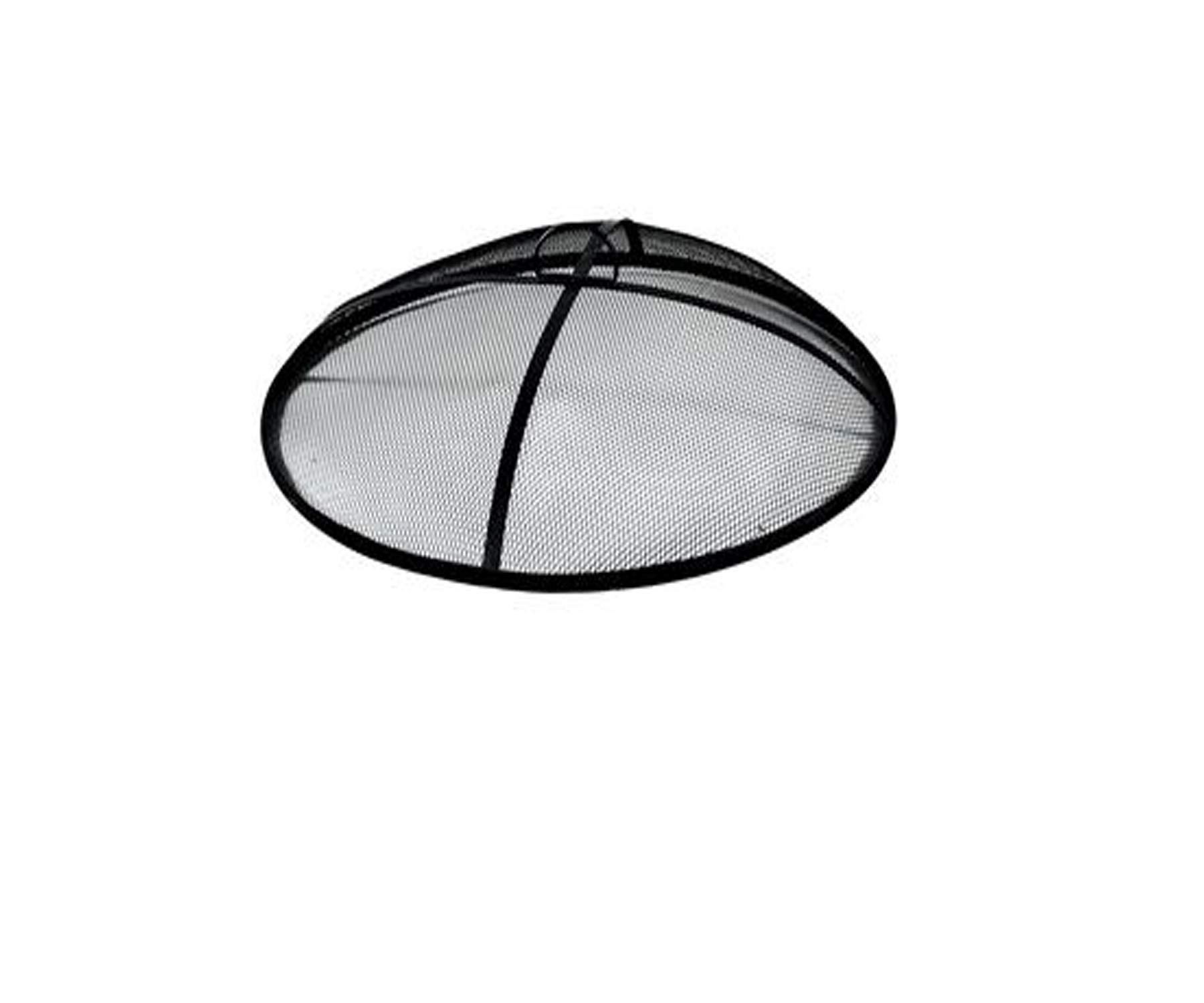Wisechoice Heavy Duty Iron Mesh Fire Pit Cover | Outdoor Burning Shield, 31 Inch Diameter by Wisechoice