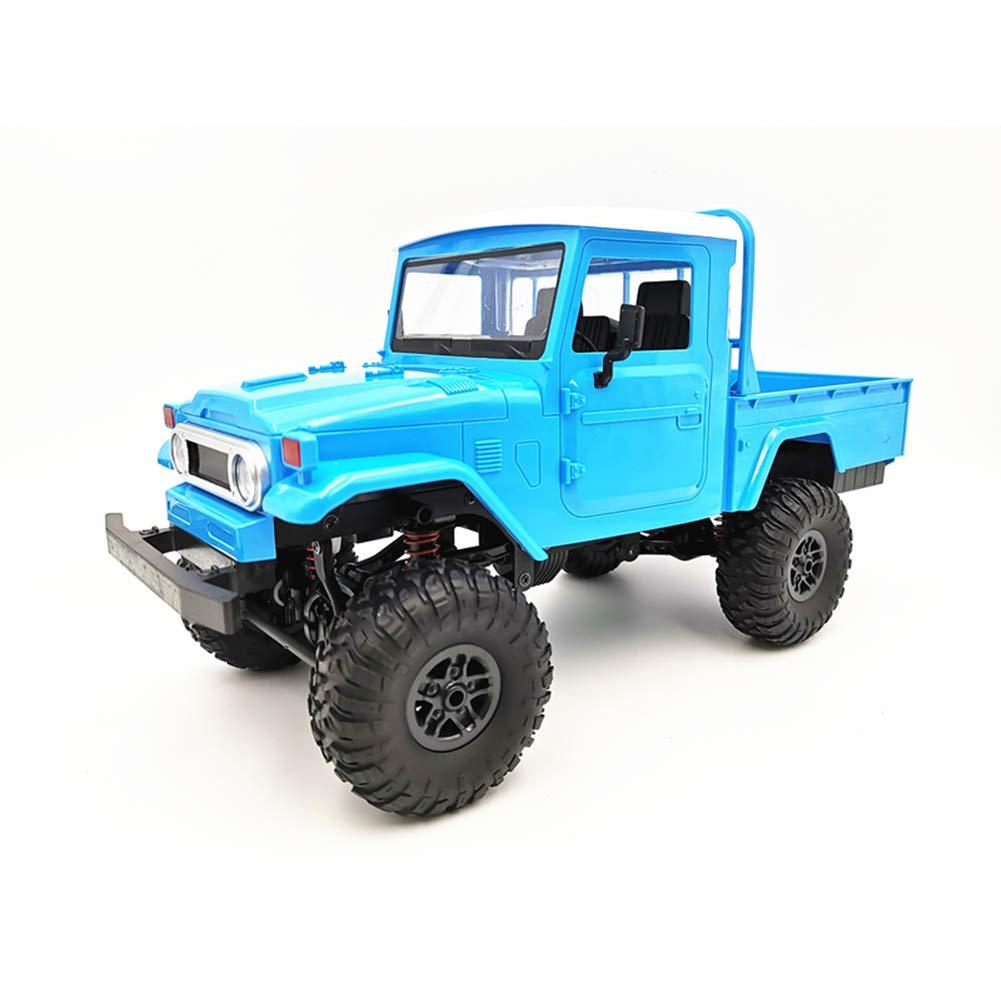 OUYAWEI MN Modell MN45 RTR 1//12 2.4G 4WD RC Auto mit LED Licht Crawler Klettern Gel/ändewagen Blau
