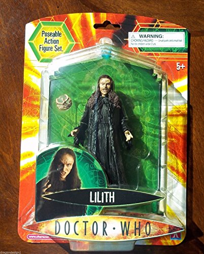 DOCTOR WHO action figure, LILITH, Witch , MIP, Series 3, more Dr Who in store