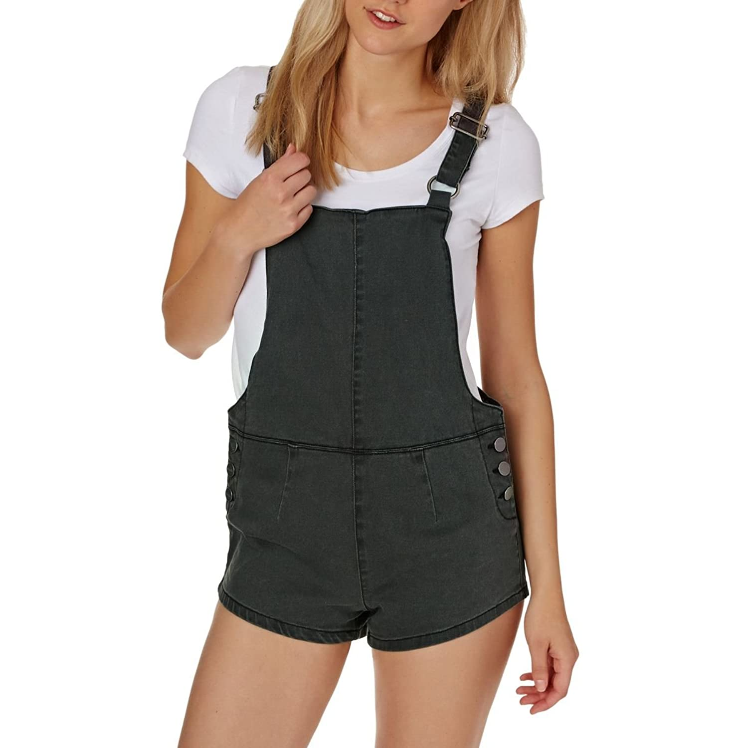 Afends Playsuits - Afends Onyx Shorts Overalls ...