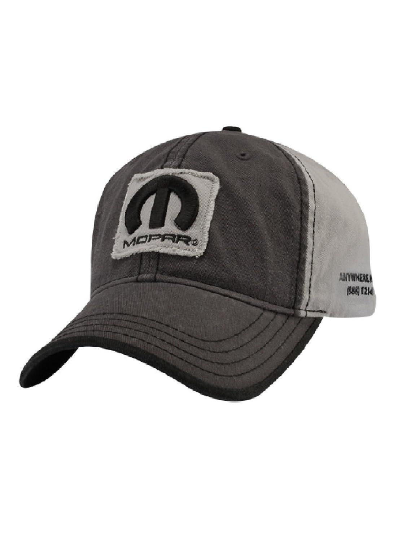 Amazon.com: Mopar Vintage Wash Raw Edge Cap: Clothing