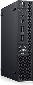 Dell OptiPlex 3060 Tiny Computer Micro Tower PC, Intel Core i5-8500T Processor, 16GB DDR4 Ram, 512GB NVMe SSD, Display Port, HDMI, Wi-Fi, Wireless Keyboard & Mouse, Windows 10 Pro (Renewed)