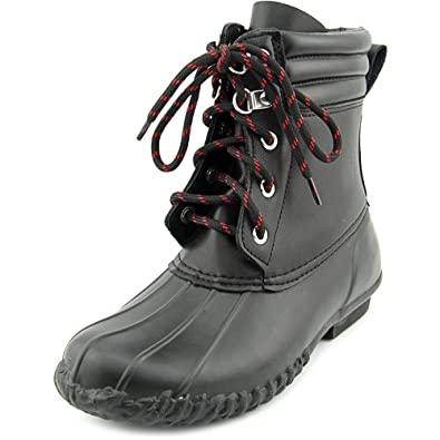 American Living Womens Lyndsey Rubber Round Toe Ankle Rainboots