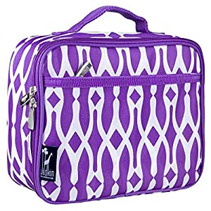 Lunch Box, Wildkin Lunch Box, Insulated, Moisture Resistant, and Easy to Clean with Helpful Extras for Quick and Simple Organization, Ages 3+, Perfect for Kids or On-The-Go Parents – Wishbone