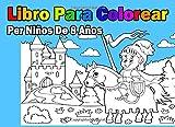 Libro Para Colorear Per Niños De 8 Años (Spanish Edition)