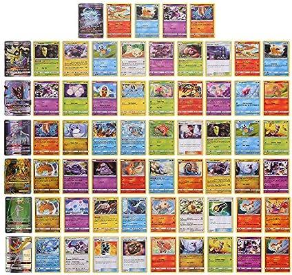 324 Piezas Pokemon Cartas, Juego de Cartas, Tarjetas de Pokemon, 36 Piezas GX Cartas, Sun & Moon Series y TeamUp Series: Amazon.es: Hogar